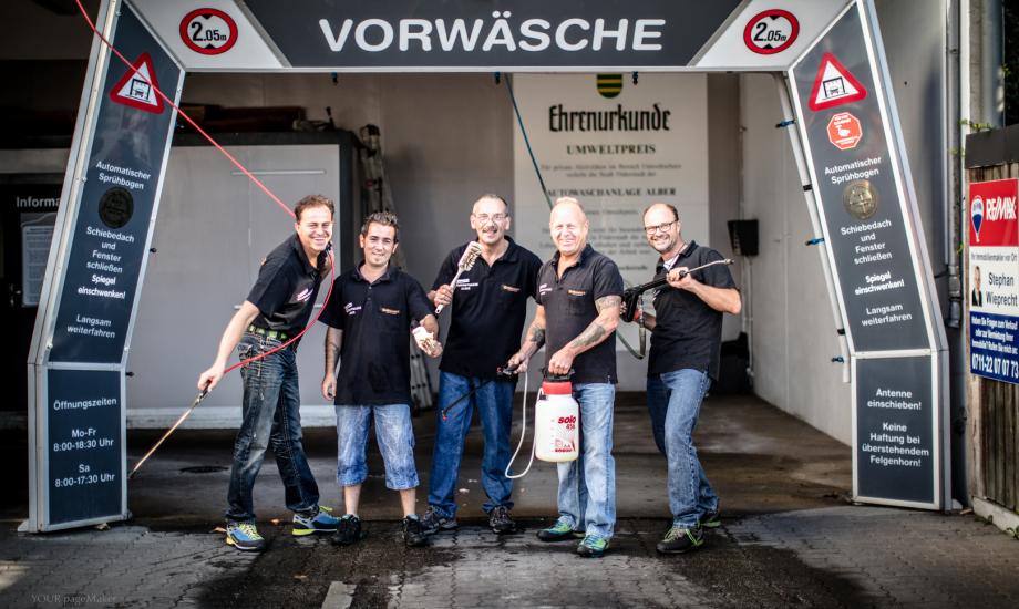 Alber Filderstadt alber auto service gmbh waschstrasse alber